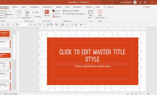 How To Create A Powerpoint Template (Step-By-Step) pertaining to How To Create A Template In Powerpoint