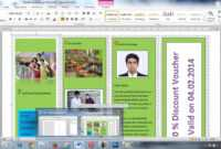 How To Create Brochure Using Microsoft Word Within Few Minutes pertaining to Microsoft Word Pamphlet Template
