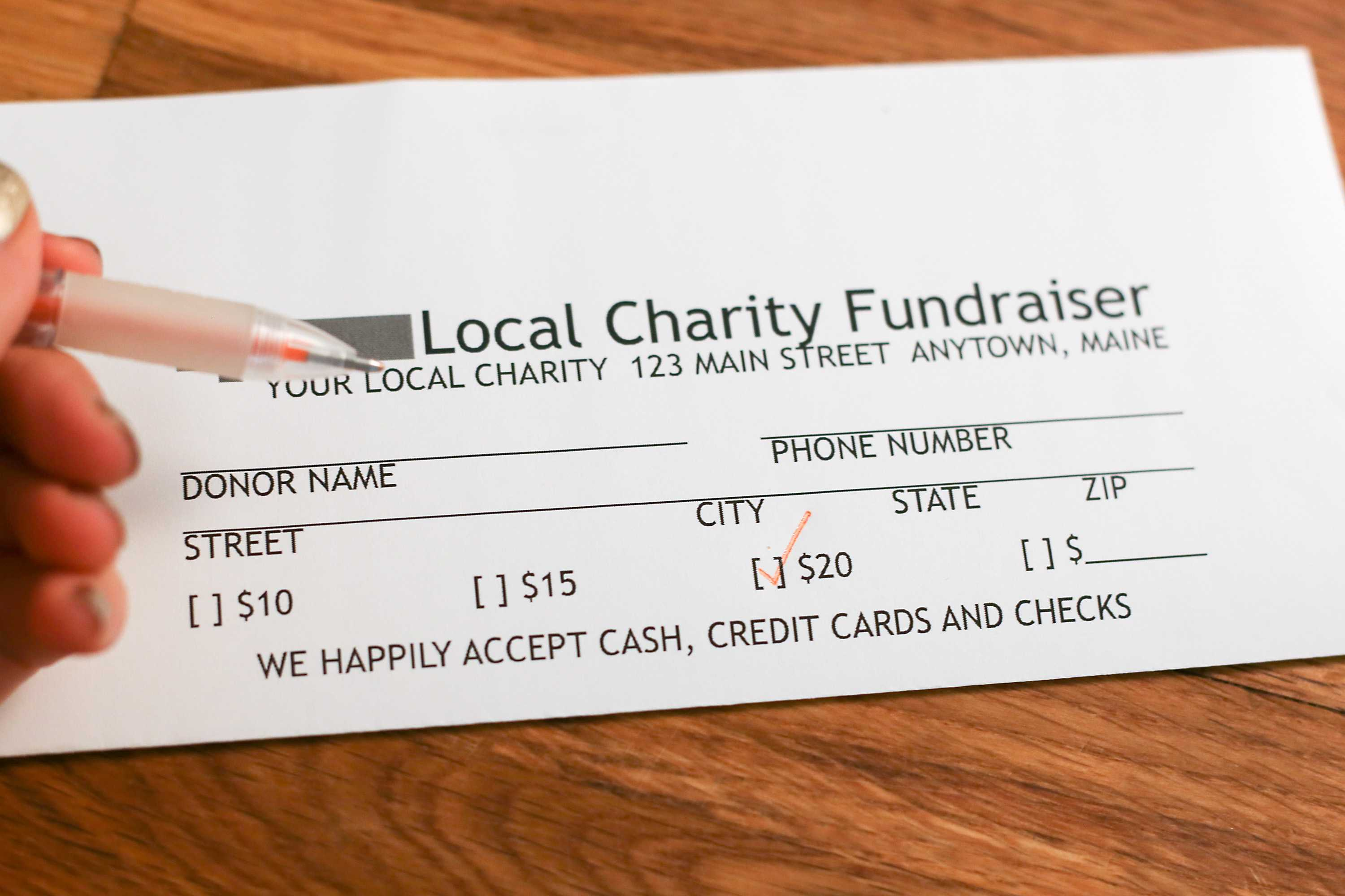 How To Create Pledge Cards With Regard To Fundraising Pledge Card Template