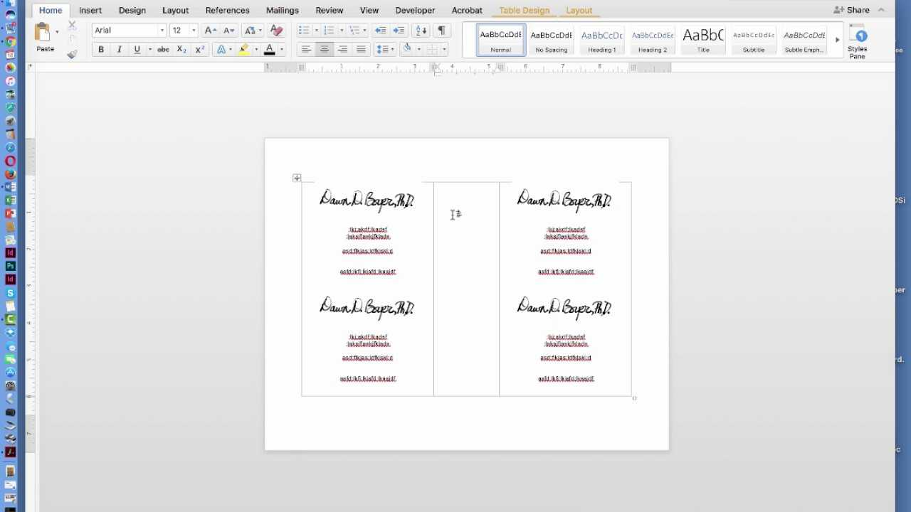 How To Create Two Page Flyer In Ms Office Word Document Pertaining To Quarter Sheet Flyer Template Word