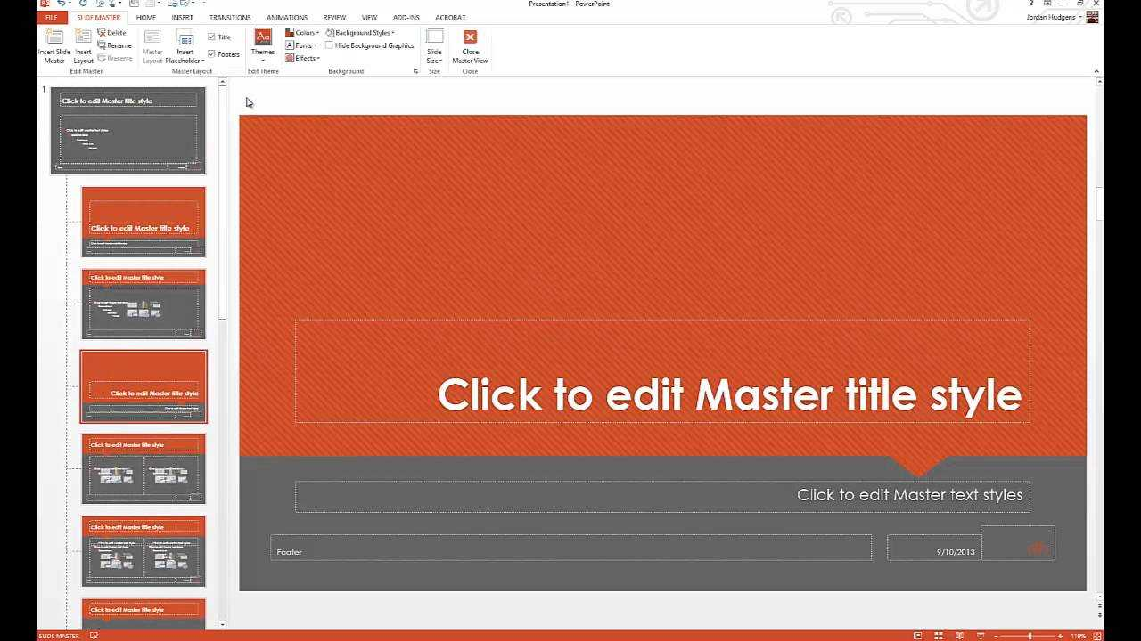 How To Customize Powerpoint Templates With How To Edit Powerpoint Template