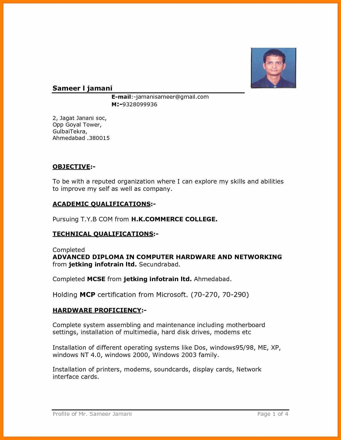 Image Result For Driver Cv Format | Cv Examples | Resume Within Free Basic Resume Templates Microsoft Word