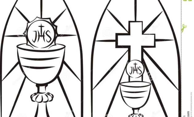 Image Result For Stain Glass First Communion Banner Template intended for First Holy Communion Banner Templates