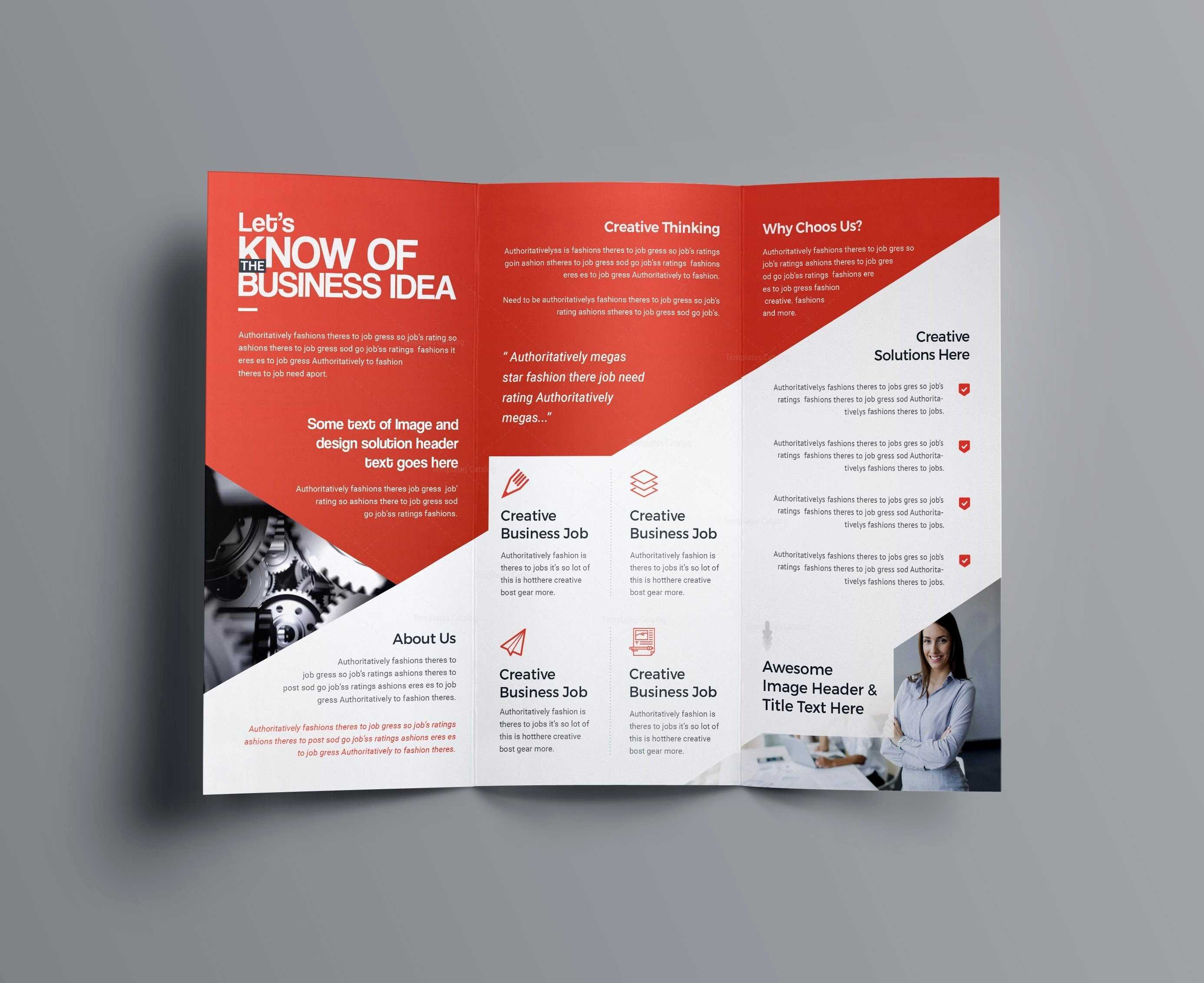 Indesign Bi Fold Brochure Template Free A4 Bifold Download With Regard To Tri Fold Brochure Publisher Template