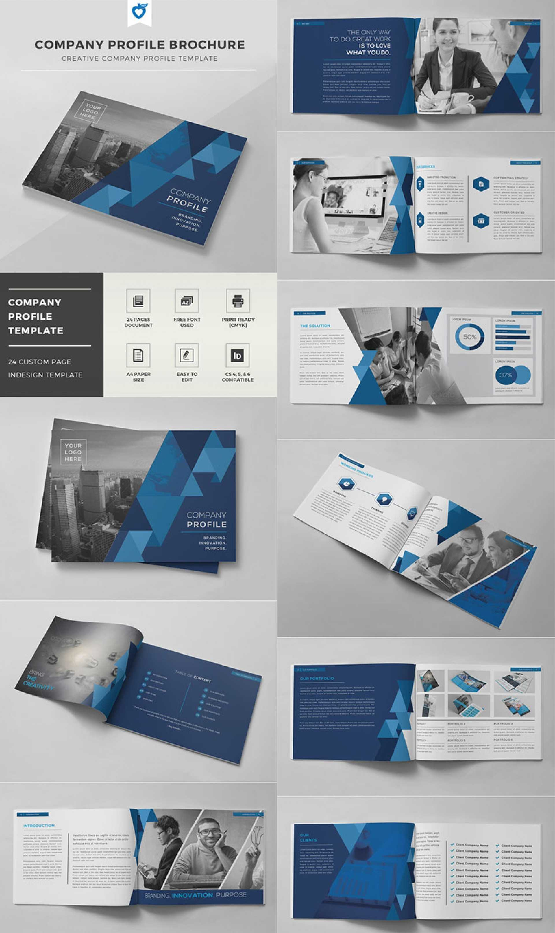 Indesign Template Free Brochure 004 Ideas Templates Company With Regard To Indesign Templates Free Download Brochure