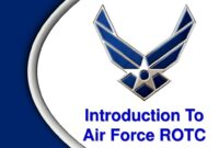 Introduction To Air Force Rotc – Ppt Download intended for Air Force Powerpoint Template