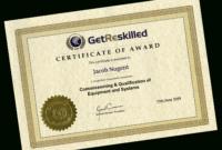 Iq Oq Pq Training Course – Retrain Online For Starter within Iq Certificate Template