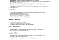 Lab Report Format Doc   Environmental Science Lessons   Lab intended for Introduction Template For Report
