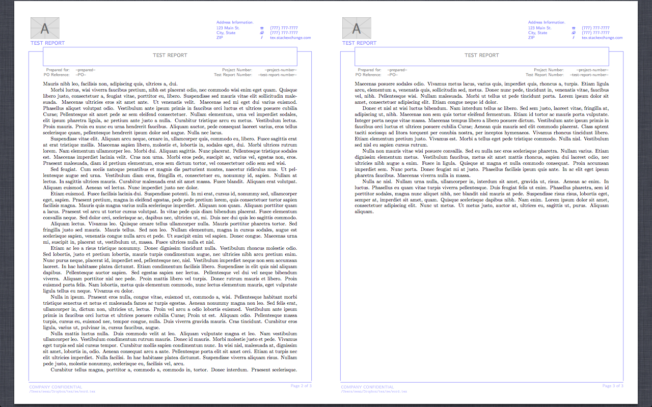 Latex Technical Report Template - Atlantaauctionco With Regard To Latex Technical Report Template