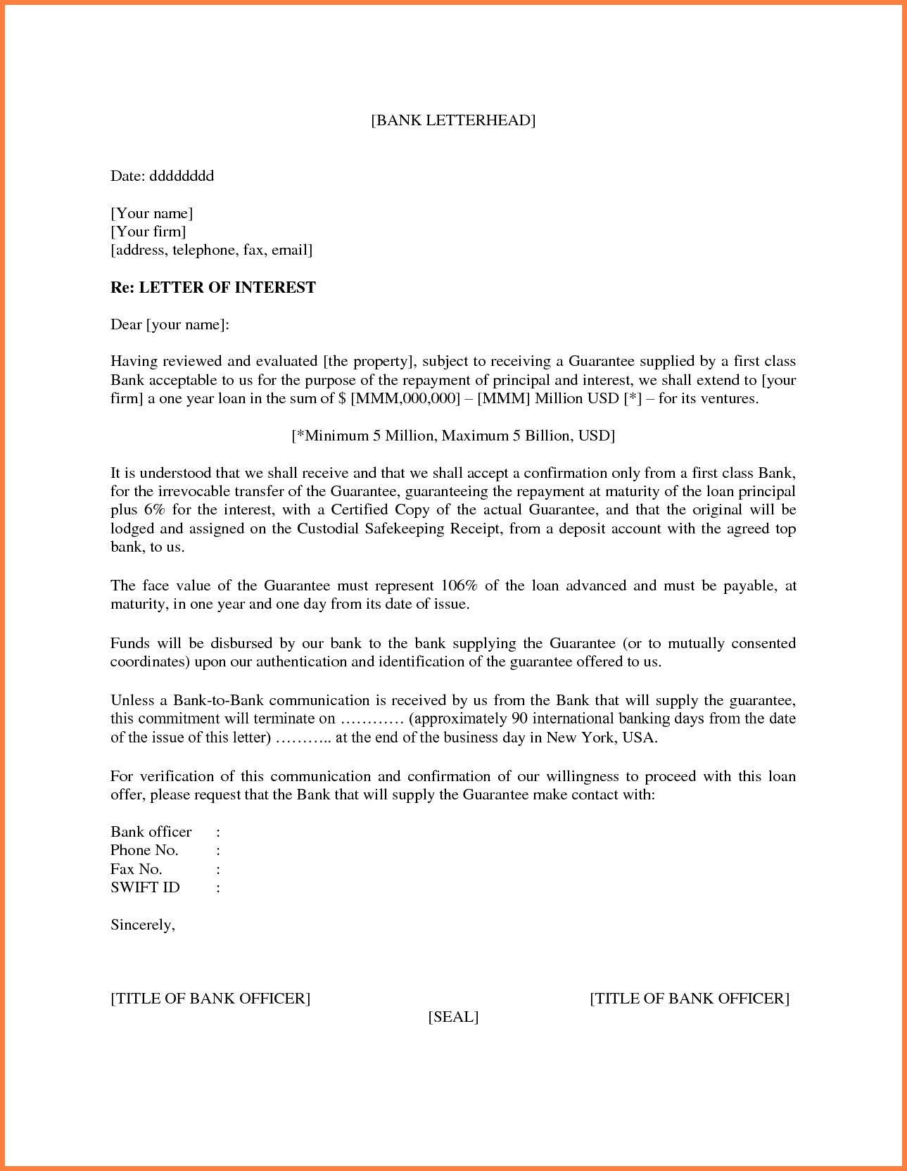 Letter Of Interest Template Microsoft Word 11 New Thoughts Inside Letter Of Interest Template Microsoft Word