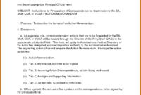 Memo Template Army   Free Resume Example inside Army Memorandum Template Word