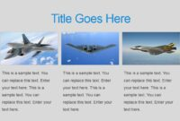 Military Powerpoint Template with Air Force Powerpoint Template