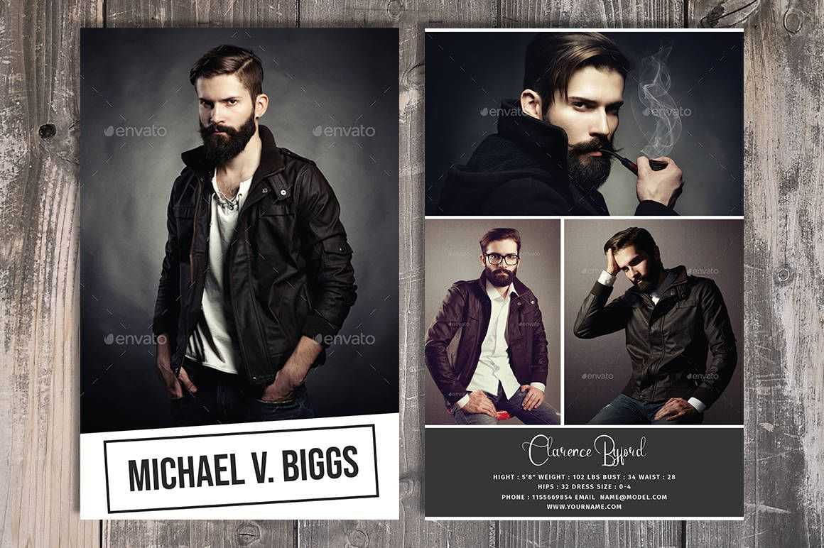 Modeling Comp Card Template, Fashion Model Comp Card Pertaining To Download Comp Card Template