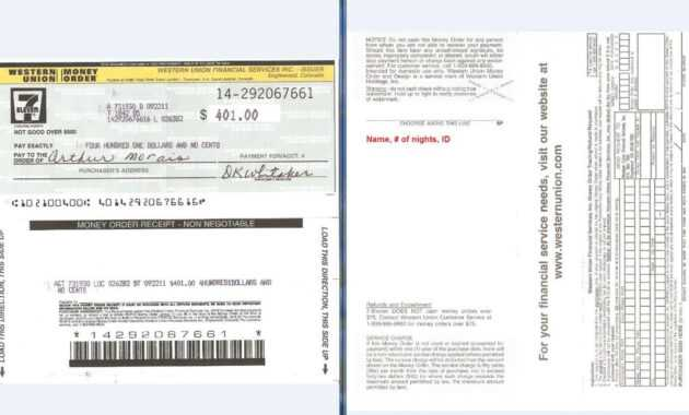 Money Order Template   Letters In 2019   Money Template with Blank Money Order Template