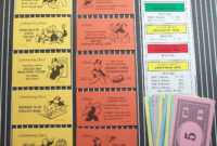 Monopoly Chance Cards | Relay | Monopoly, Monopoly Party for Monopoly Chance Cards Template