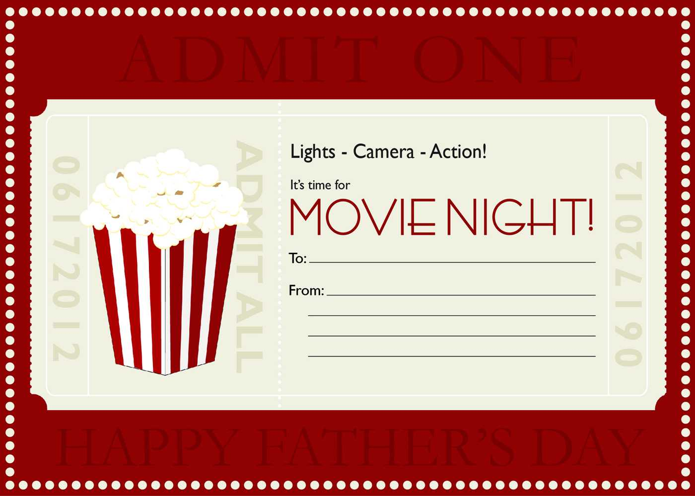 Movie Gift Certificate Templates   Gift Certificate Templates With Regard To Movie Gift Certificate Template