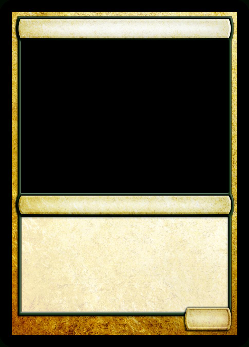 Mtg Multicolor Creature Template | Mtg Templates | Id Card For Blank Magic Card Template
