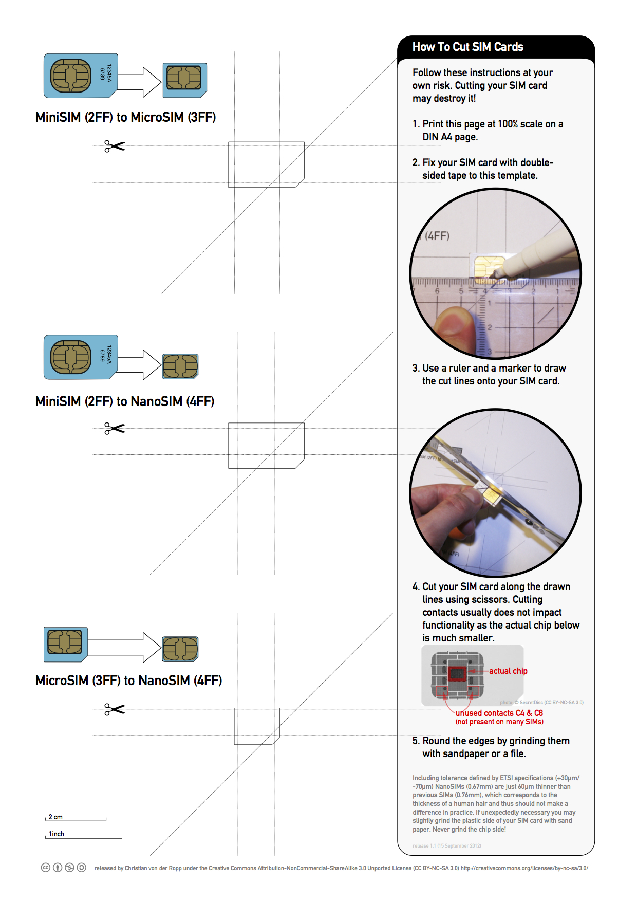 Nano Sim Cutting Guide – Nice Free Printable Pertaining To Sim Card Cutter Template