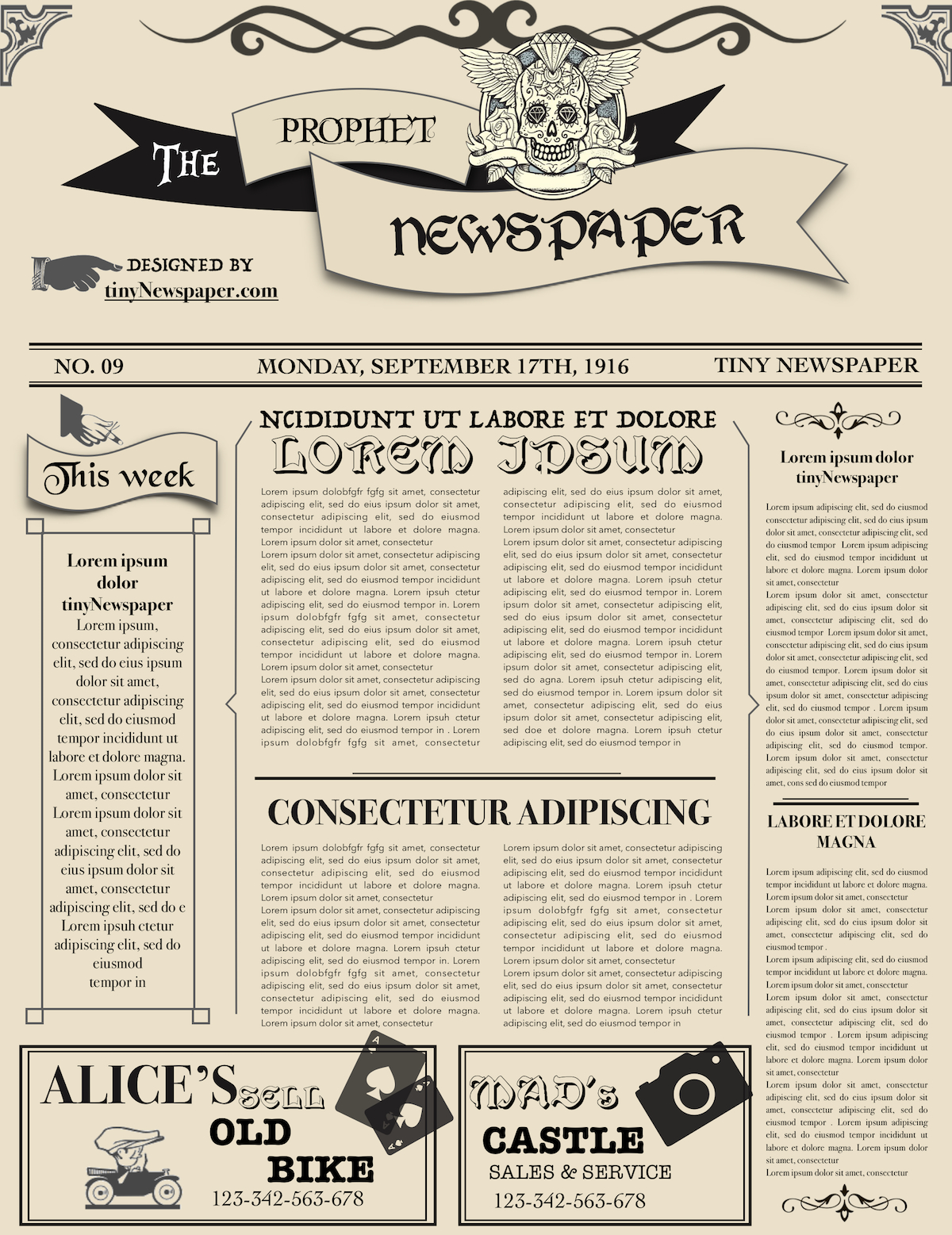 Newspaper Layout Newspaper Format Newspaper Generator Free Inside Old Blank Newspaper Template