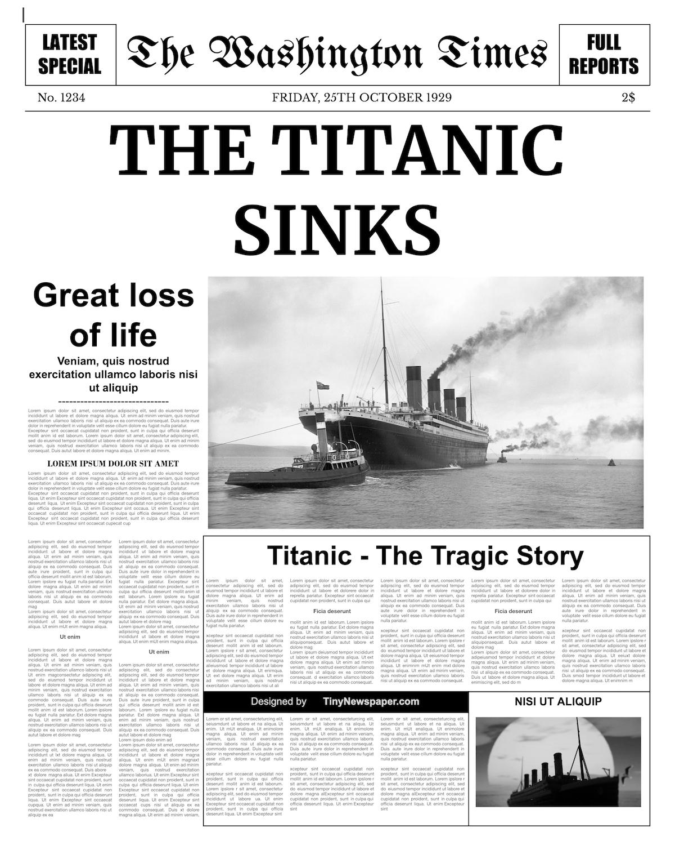 Newspaper Templates For Powerpoint Headline Template Old For Newspaper Template For Powerpoint