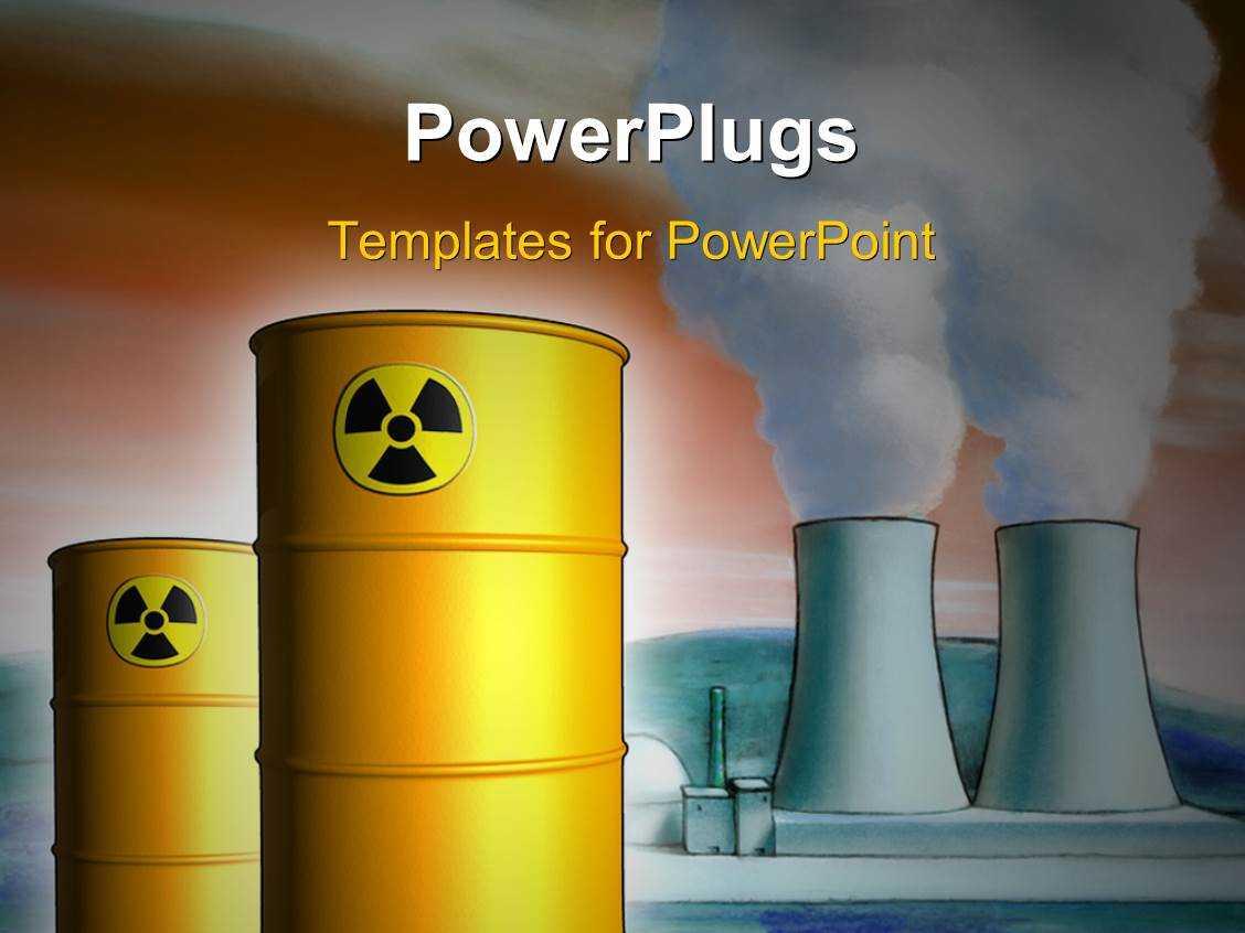 Nuclear Energy Powerpoint Templates W/ Nuclear Energy Themed Regarding Nuclear Powerpoint Template