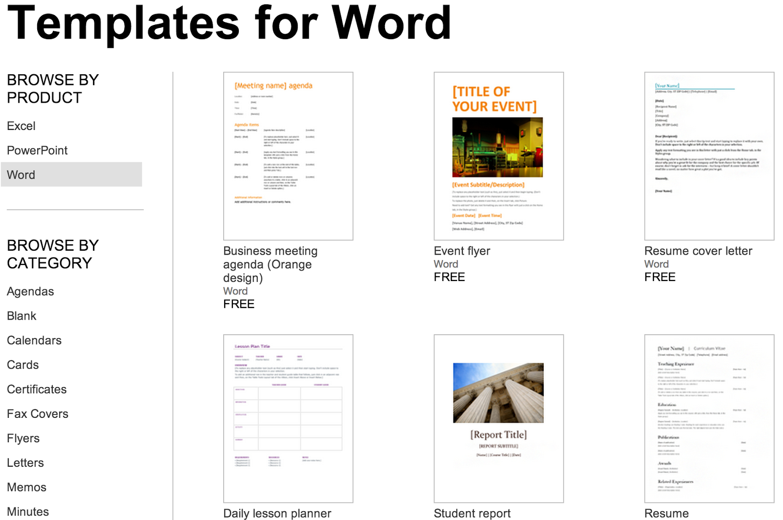 Over 250 Free Microsoft Office Templates & Documents Within Hours Of Operation Template Microsoft Word