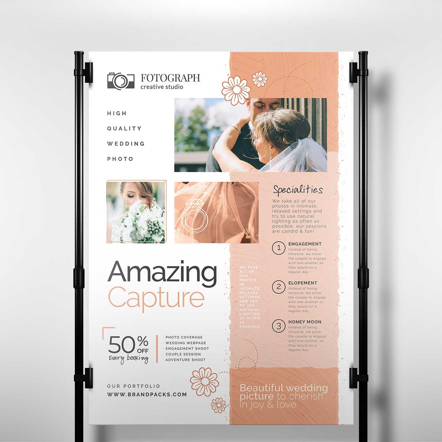 Photography Service Banner Template - Psd, Ai & Vector Within Photography Banner Template