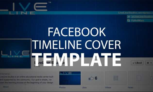 Photoshop Template: Facebook Timeline Cover (Psd File) in Photoshop Facebook Banner Template