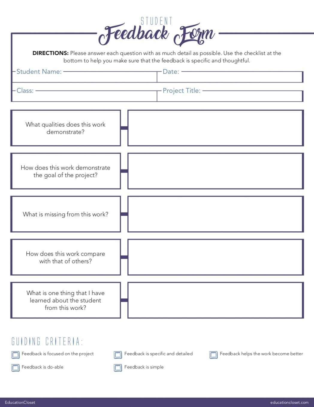 Php Intelligent Feedback Form In Html Previ | Adrienne Bailon With Student Feedback Form Template Word