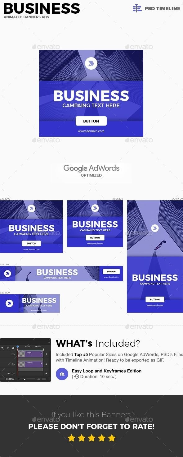 Pin On Banner Ads - Web Banners Template in Animated Banner Template