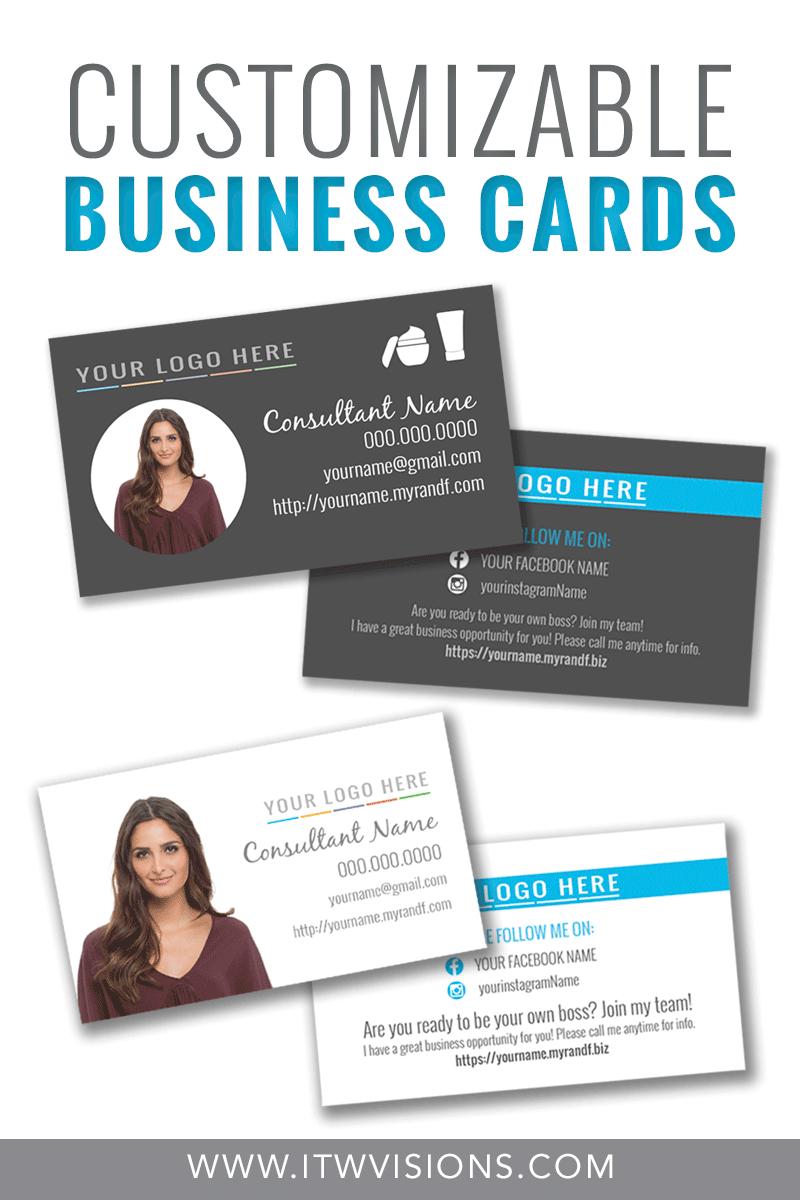 Pin On Designs | Rodan + Fields For Rodan And Fields Business Card Template