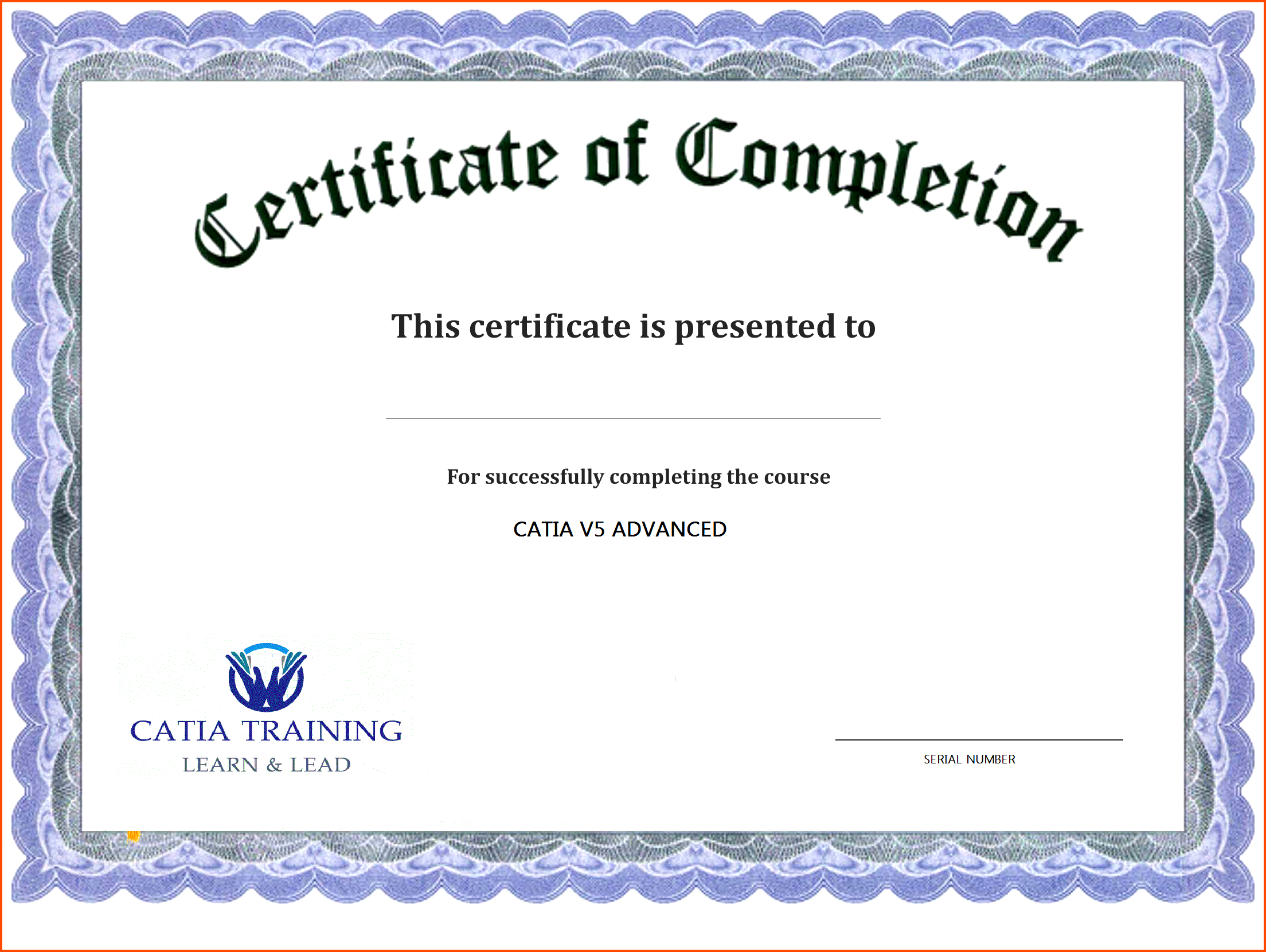 Pin On Graphic Design Pertaining To Certification Of Completion Template