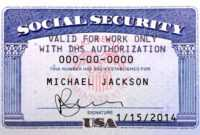 Pin On Novelty Psd Usa Ssn Template with Blank Social Security Card Template