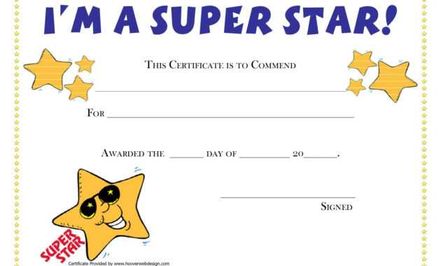 Pinamanda Crawford On Teaching Music And Loving It intended for Star Award Certificate Template