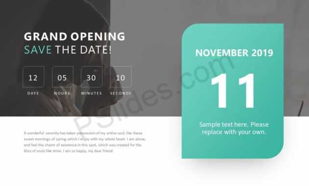 Pinpslides On Powerpoint Diagrams   Save The Date inside Save The Date Powerpoint Template