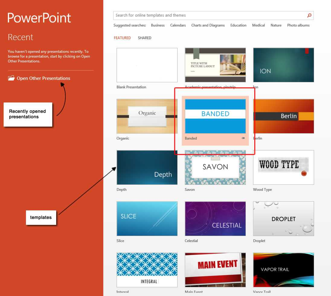 Powerpoint 2013 Template Location - Atlantaauctionco In Powerpoint 2013 Template Location