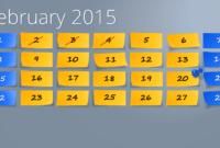Powerpoint Calendar: The Perfect Start For 2015 for Powerpoint Calendar Template 2015