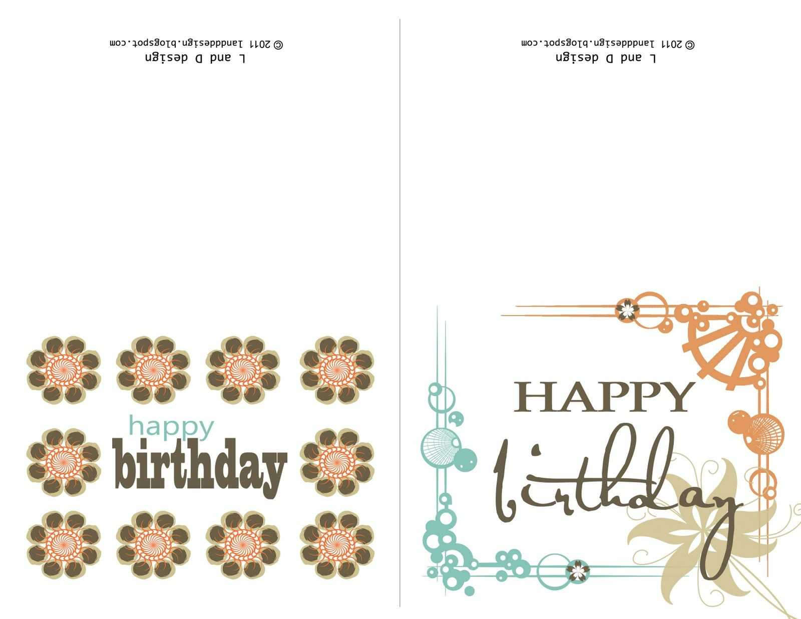 Printable Birthday Cards For Mom | Free Birthday Card Within Mom Birthday Card Template