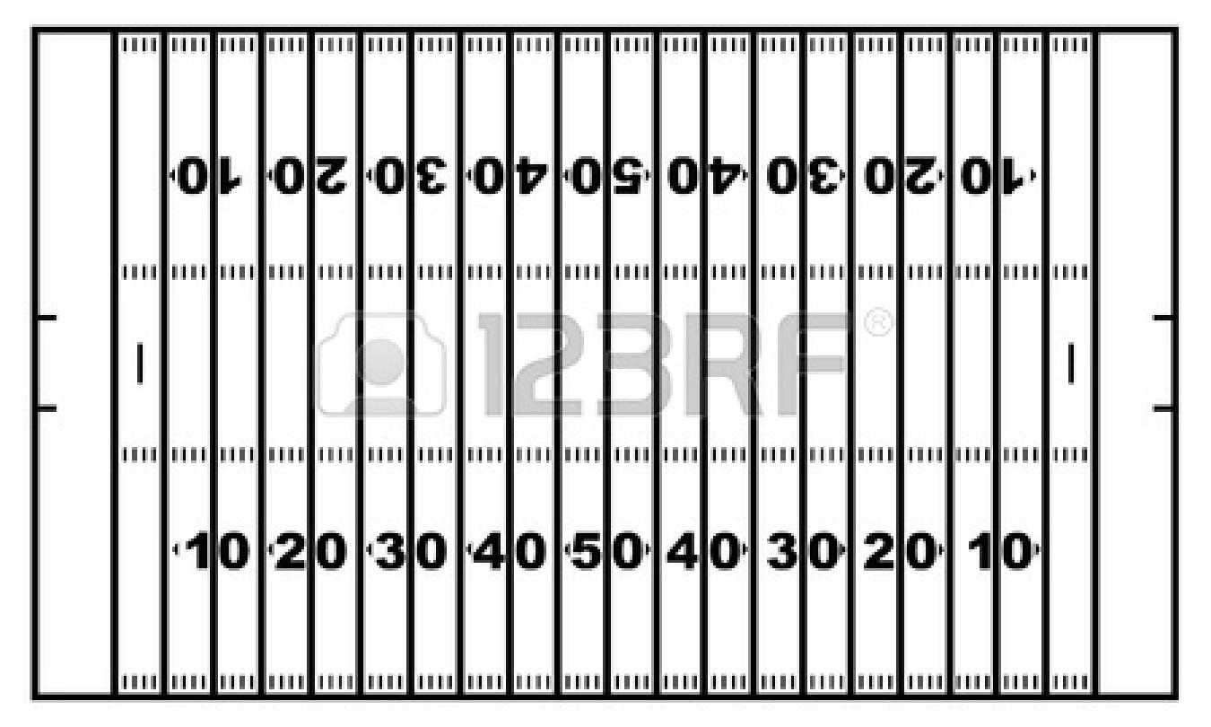 Printable Football Field | Free Download Best Printable For Blank Football Field Template