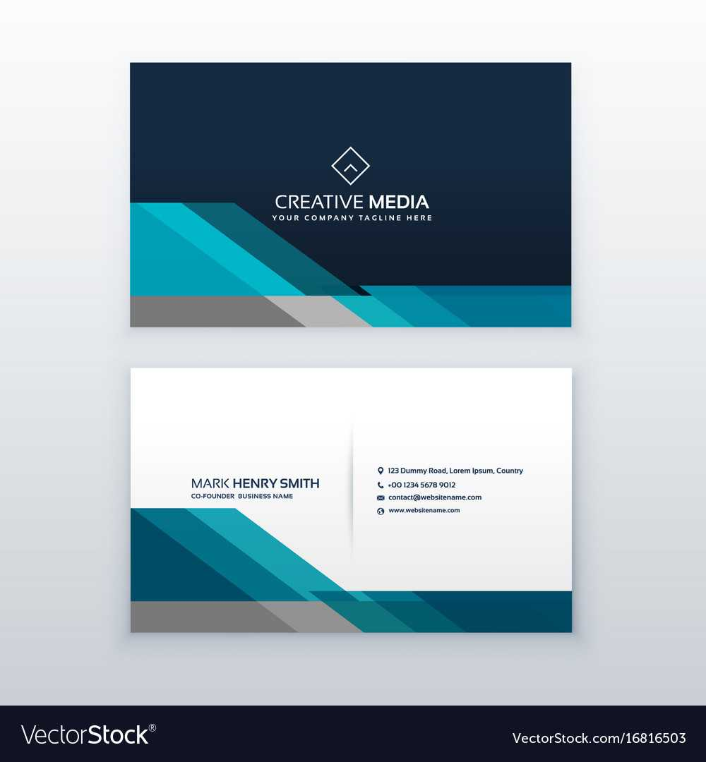 Professional Business Card Design Template Regarding Professional Name Card Template