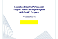 Progress Report Template In Word And Pdf Formats in Progress Report Template Doc