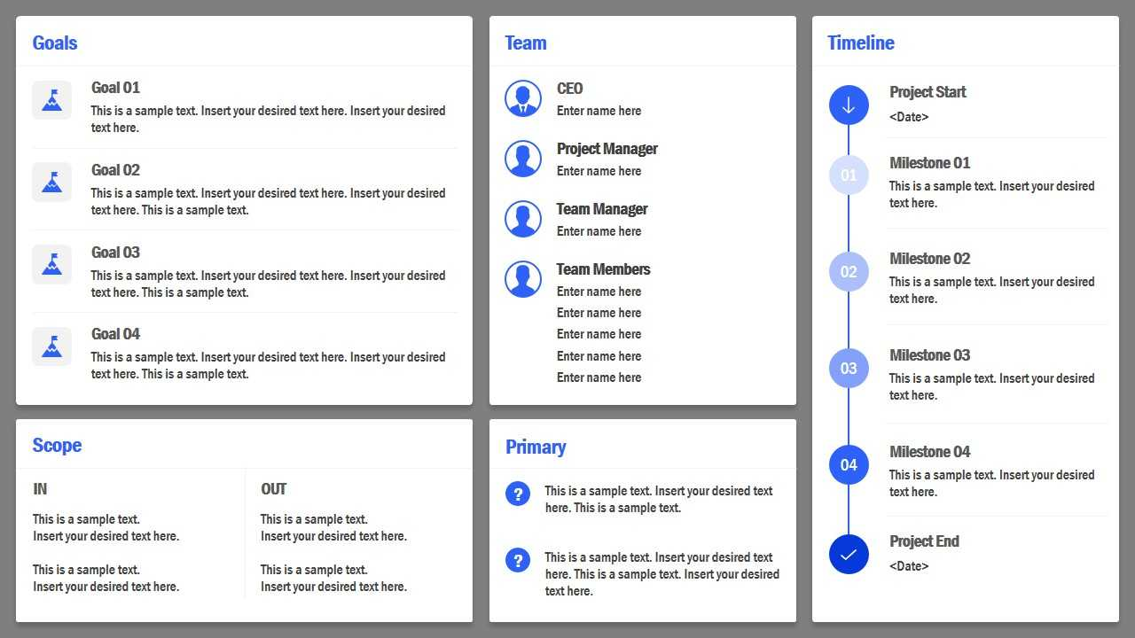 Project Charter Powerpoint Template With Regard To Team Charter Template Powerpoint