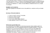 Project Evaluation Report Template V1.0 – 200392 – Uws – Studocu With Regard To Evaluation Summary Report Template