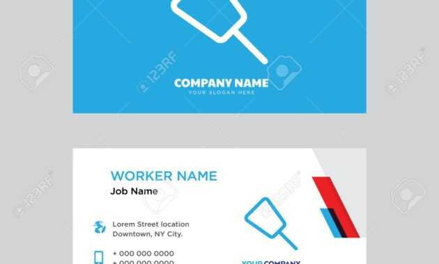 Push Pin Business Card Design Template, Visiting For Your Company,.. with Push Card Template