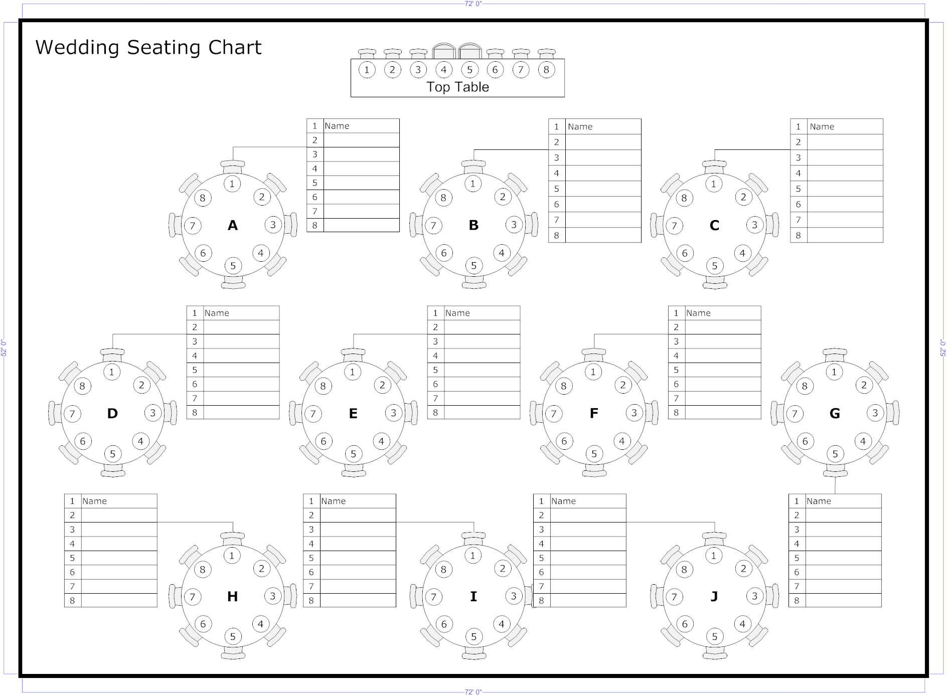 Reception Seating Charts 101 | Wedding Album Photos In 2019 Pertaining To Wedding Seating Chart Template Word