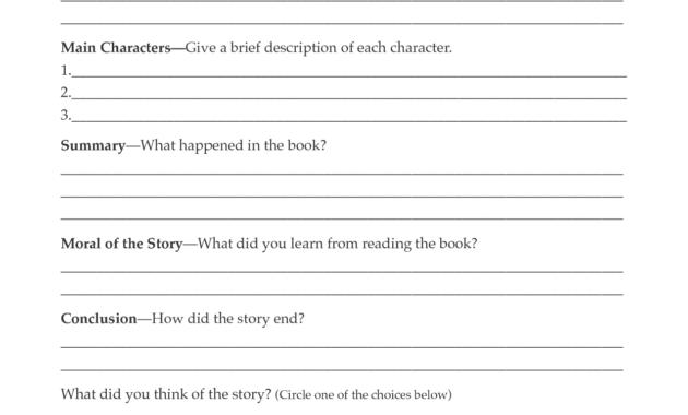 Second Grade Book Report Template | Book Report Form Grades inside 2Nd Grade Book Report Template