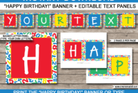 Sesame Street Party Banner Template with regard to Sesame Street Banner Template