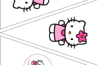 Simple Cute Hello Kitty Free Printable Kit. – Oh My Fiesta with regard to Hello Kitty Birthday Banner Template Free