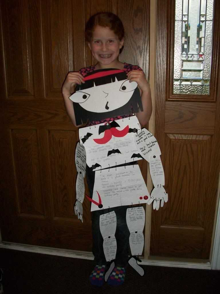 Skeleton Book Report   Kids Stuff   Book Report Projects Regarding Skeleton Book Report Template