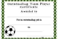 Soccer Award Certificates Template | Kiddo Shelter | Blank intended for Football Certificate Template